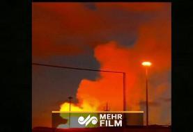 انفجار در خط لوله صادرات گاز ایران به ترکیه