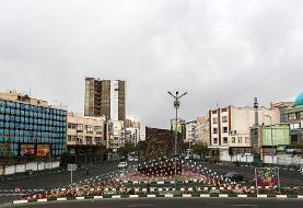 (تصاویر) سکوت حاکم بر پایتخت