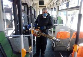 آغاز به کار ۲۰ دستگاه پیشرفته مهپاش ضدعفونی کننده در ناوگان اتوبوسرانی پایتخت