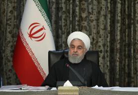 روحانی: از پیک ویروس کرونا عبور کردهایم/ روند شیوع کرونا در تمام استانها نزولی است