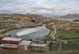۴۵ میلیون مترمکعب آب از سد مهاباد به سمت دریاچه ارومیه رها شد