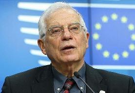 نامه ایران به جوزپ بورل درباره ضرورت مخالفت اتحادیه اروپا با تحریمهای آمریکا