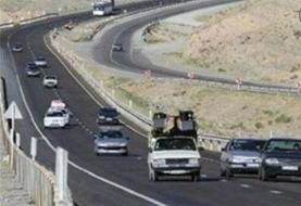 کاهش تردد ۶۷ درصدی در جاده های کردستان