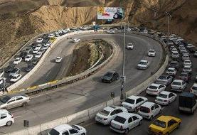 ترددهای نوروزی کاهش ۵۷ درصدی داشت؛ هنوز ۳۰ هزار خودرو در جادهها هستند