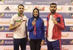 سال پرفروغ کاراته ایران با چهار سهمیه المپیک/ امید ورزش زنده شد