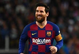 مسی بهتر از ۸۶ تیم پنج لیگ برتر اروپایی