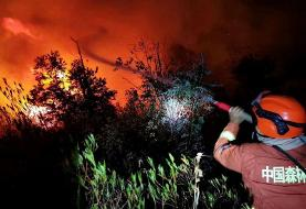 China state media reports 19 people killed in forest fire