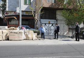 پوست اندازی محله صفا