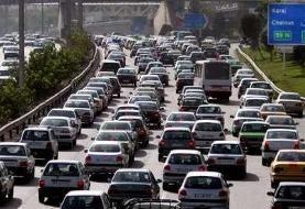ترافیک نیمه سنگین در محدوده ورودی پایتخت/ بازگشایی محدوده مسدود هراز