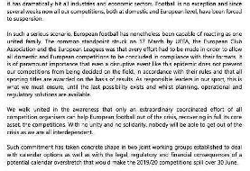 تکلیف فوتبالهای اروپایی مشخص شد/عکس