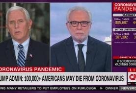 Pence Confronted by CNN for Claim That Trump Never 'Belittled' Coronavirus Threat