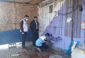 مراسم هنجار شکن در یک باغ تالار در شهریار