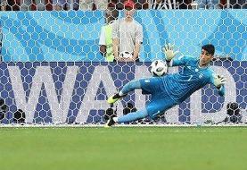 بیرانوند نامزد بهترین بازیکن آسیا در تاریخ جام جهانی