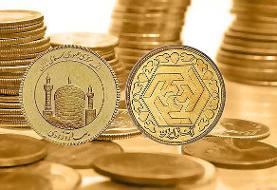 قیمت سکه طلا بالاتر از۱۰میلیون تومان!