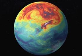 شناسایی منطقهای که دارای پاکترین هوای کره زمین است