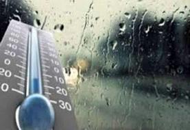 کاهش دمای هوا در شمال کشور/بارش خفیف باران در تهران
