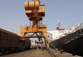 امکان حمل مستقیم غلات از کشتی توسط قطار پس از ۱۵ سال محقق شد
