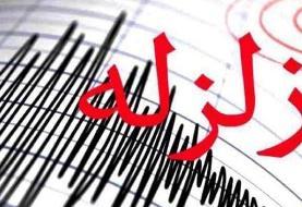 زلزله در برخی شهرهای ایران