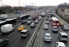 ببینید | ترافیک نگران کننده بزرگراه شهید همت / مردم خطر کرونا را فراموش ...