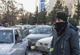 ترافیک نیمه سنگین در آزادراه قزوین-کرج