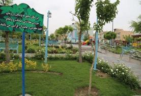 ساخت ۴ بوستان در محلههای منطقه۲۲