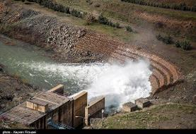 ۳ سد در کردستان سرریز شدند
