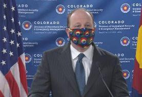 عکس | ماسک خاص و درخواست ویژه فرماندار کلورادو |از روسری استفاده کنید