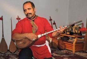 (عکس) موسیالرضا ولینژاد استاد ماهر دوتار نوازی درگذشت