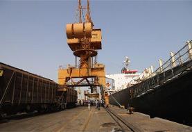 امکان تخلیه مستقیم کشتی های حامل غلات به واگن قطار فراهم شد