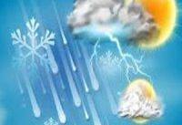 بارش شدید باران در سواحل غربی و مرکزی دریای خزر/ کاهش محسوس دمای هوا در برخی مناطق