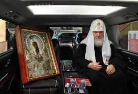 تصاویر | اقدام متفاوت کلیسای ارتدکس برای مقابله با کرونا