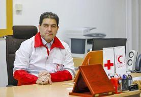 همتی رئیس جمعیت هلال احمر شد