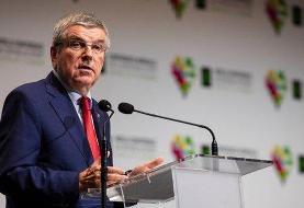 پیام رئیس کمیته بینالمللی المپیک برای غلبه بر بحران کرونا