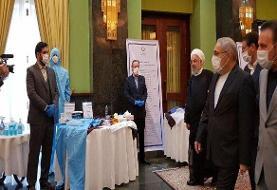 روحانی از نمایشگاه دستاوردهای شرکتهای دانش بنیان بازدید کرد