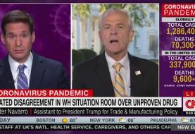 Peter Navarro Touts His Qualifications on Unproven Coronavirus Drug: 'I'm a Social Scientist'