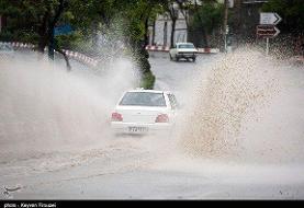 بارش تگرگ و یخبندان کردستان را فرا میگیرد