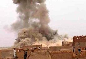 حمله گسترده جنگندههای سعودی به ۵ استان یمن