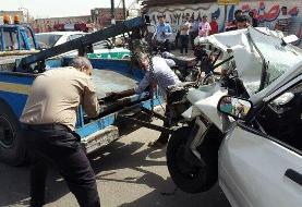 تصادف پراید با یک کشته و سه مصدوم در جاده خاوران