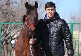 عکس: رکوردشکنی سردار آزمون با خرید اسب نیم میلیون دلاری در کورسهای استرالیا