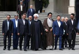 کنش و واکنش رئیس جمهور در سال سخت ۹۸/خنده روحانی بر تلخ کامی مردم