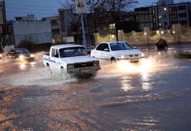 احتمال آبگرفتگی محورهای استان تهران