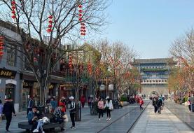 تصاویر   هجوم مردم چین به سایتهای گردشگری   نگرانی مقامات بهداشتی