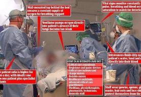 (تصویر) حلقه پزشکان به دور جانسون؛ حال او خوب نیست