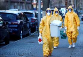 مرگ ۱۴۱۷ مبتلا به کرونا در فرانسه طی ۲۴ ساعت