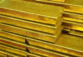 قیمت طلا به بالاترین میزان خود در یک ماه اخیر رسید