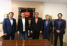 نشست سهجانبه در باشگاه پرسپولیس با حضور یحیی گل محمدی