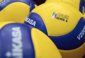 تعطیلی لیگ والیبال ایتالیا بدون قهرمان