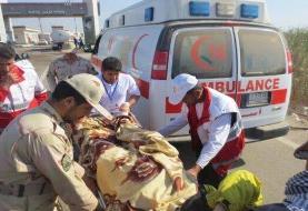 واژگونی نیسان وانت با ١١مصدوم و یک کشته
