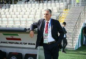 دلتنگی کیروش برای ایران!