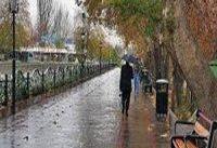 بارش باران در تمام کشور به جز دو استان/ شدت بارش&#۸۲۰۴;ها در ۱۵ استان